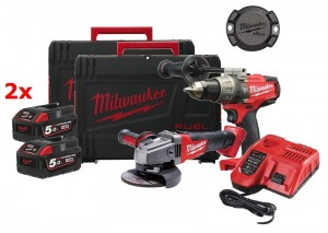 MILWAUKEE M18 FPD-CAG - Zestaw combo